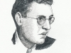 David O. Selznick - pen drawing, Sarah Godsill