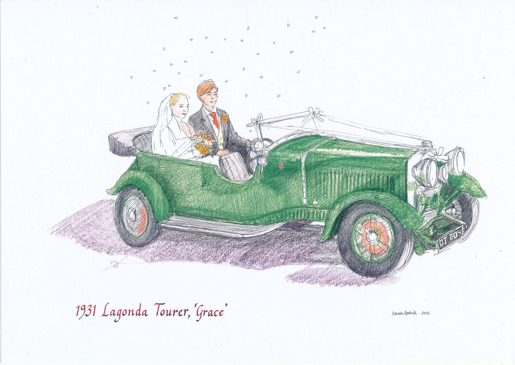 alex-and-ella-1931-lagonda-tourer