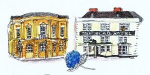 devizes town hall & bear hotel