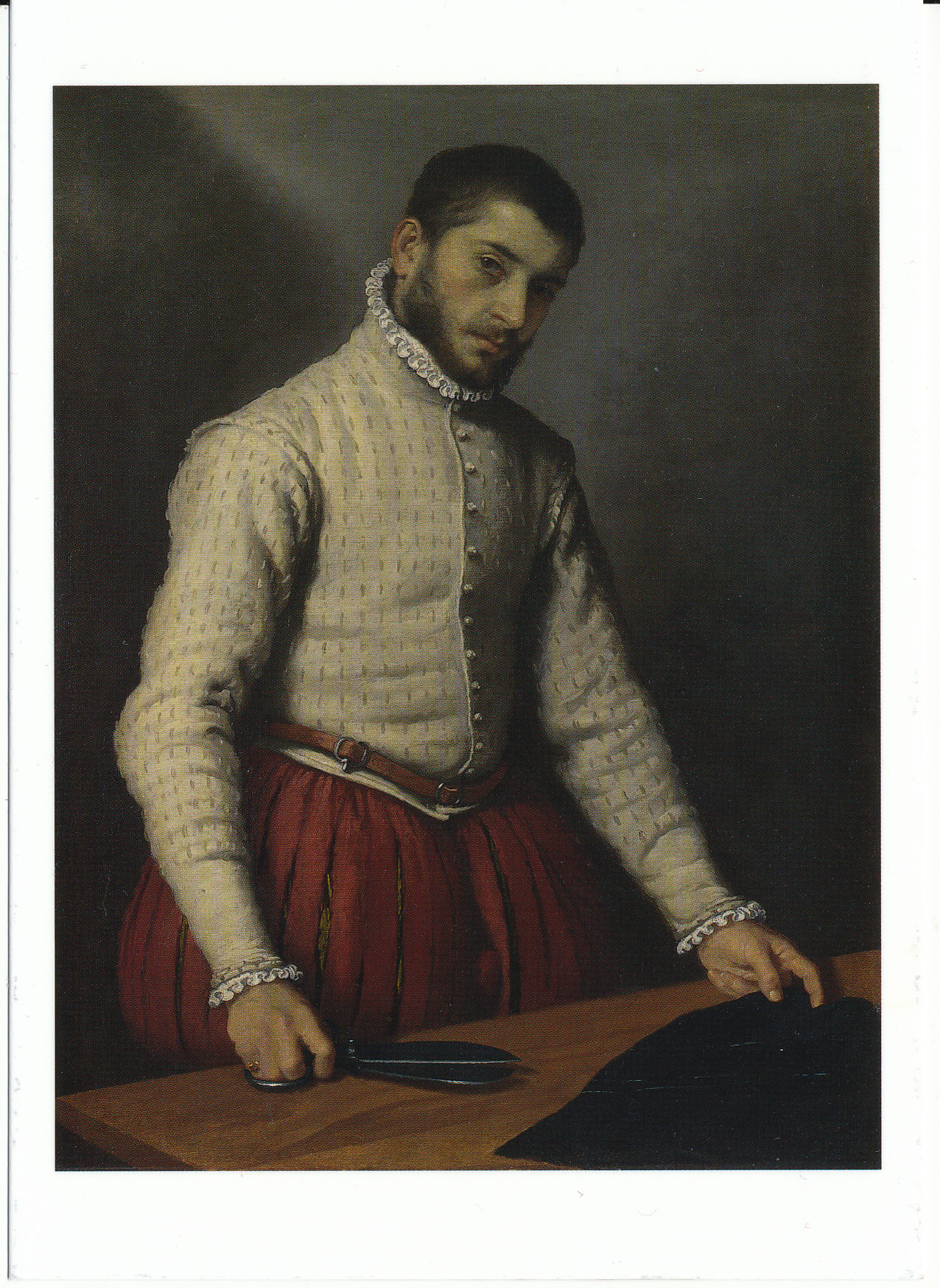 The Tailor 1565 70 By Moroni Sarah Godsill